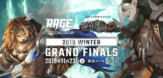 「RAGE 2019 Winter」内にて「TEPPEN RAGEカップ」開催